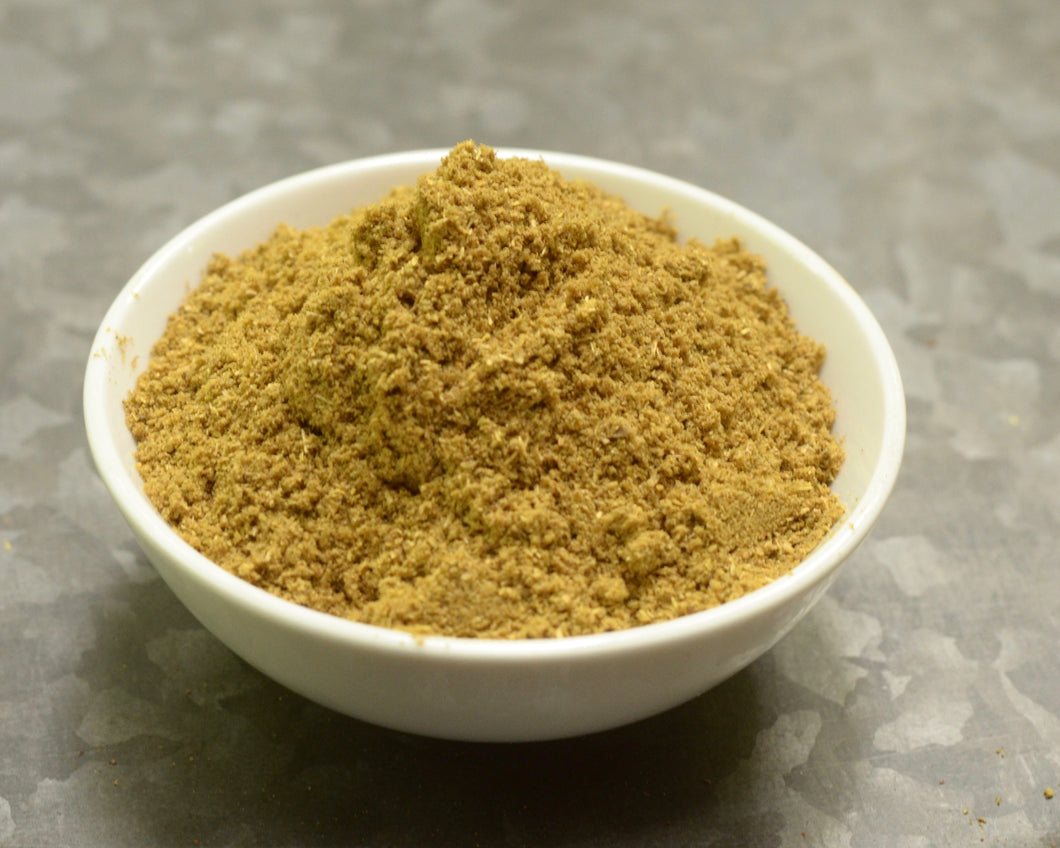 Bowl of SpiceFix's freshly made coriander powder