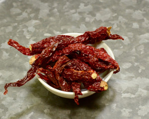 Bowl of Kashmiri Chilies