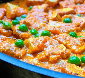 Paneer curry with peas using SpiceFix Magic Trio of spices