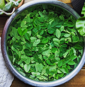 Whole Moringa leaves