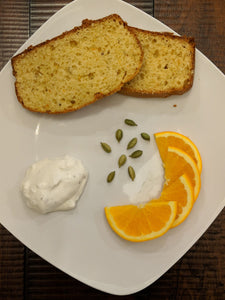 Orange/Cardamom Cake made with SpiceFix green cardamom pods
