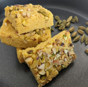Indian dessert made with using SpiceFix premium green cardamom pods