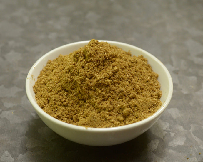 Bowl of Coriander Cumin Powder Blend