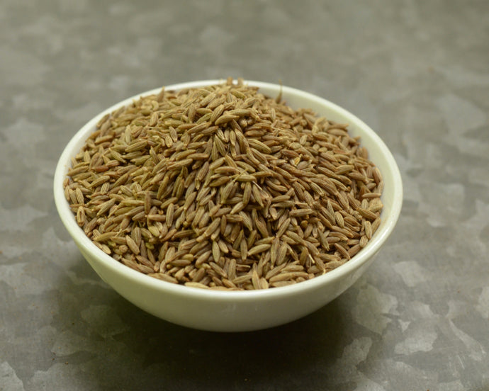 Bowl of whole Cumin Seeds