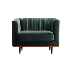 Buy or Rent Aurelia Velvet Armchair from FØERNI Furniture Rental Hong Kong
