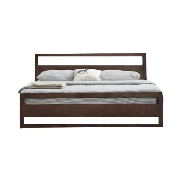 Buy or Rent Baruk Solid Oak Wood Bed from FØERNI Furniture Rental Hong Kong