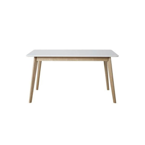 Buy or Rent Debora Thin Wooden Desk from FØERNI Furniture Rental Hong Kong