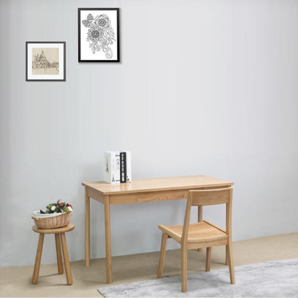 Buy or Rent Dolores Solid Oak Wood Table from FØERNI Furniture Rental Hong Kong