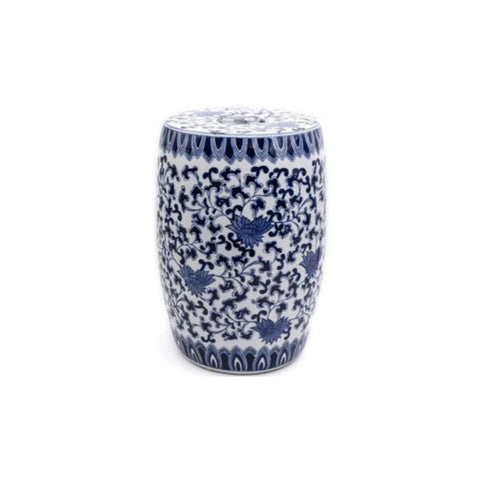 Buy or Rent Ilsa Ceramic Drum Side Table from FØERNI Furniture Rental Hong Kong