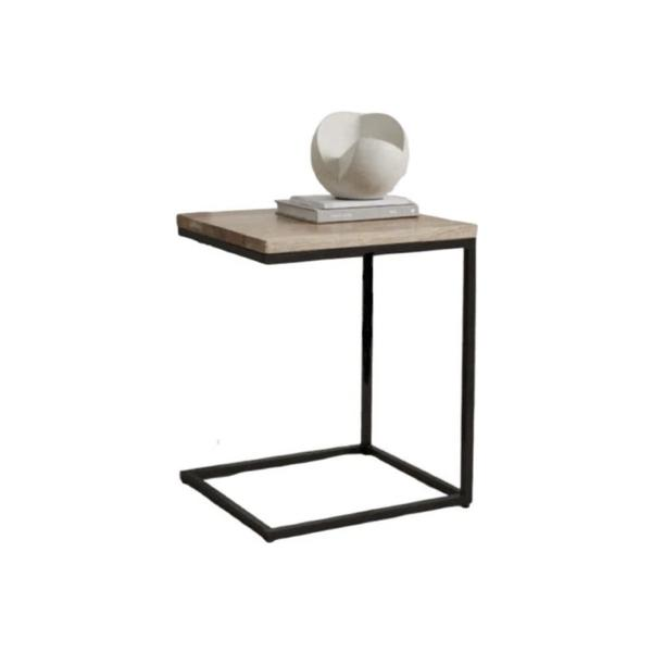 Buy or Rent Ines Industrial Side Table from FØERNI Furniture Rental Hong Kong