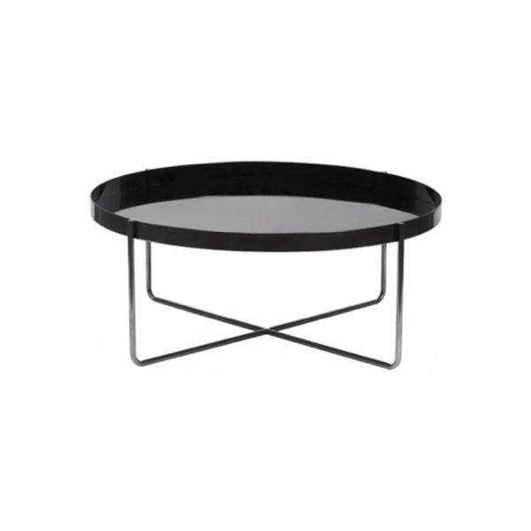 Buy or Rent Johan Glossy Top Coffee Table from FØERNI Furniture Rental Hong Kong