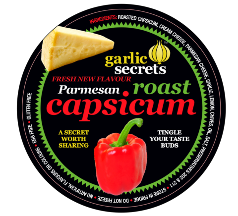 Garlic Secrets Roast Capsicum