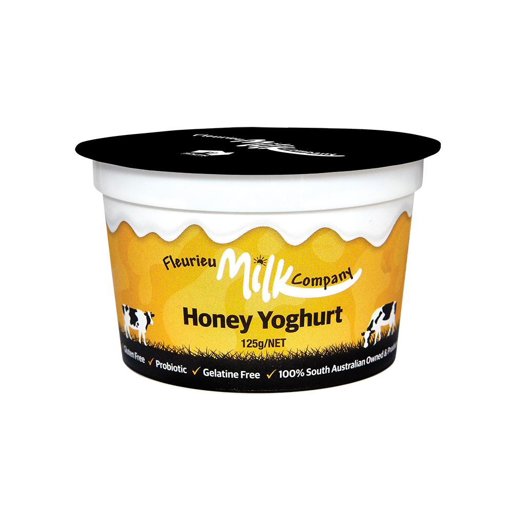 Fleurieu Yoghurt Honey 125g