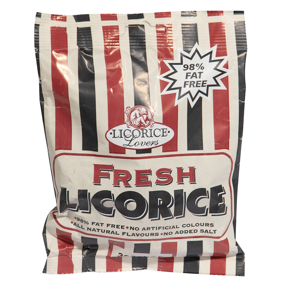 Licorice Lovers Black Licorice 300g