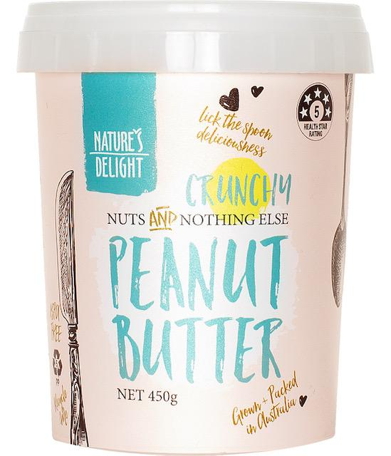 Nature's Delight Crunchy Peanut Butter