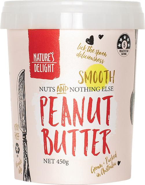 Nature's Delight Smooth Peanut Butter