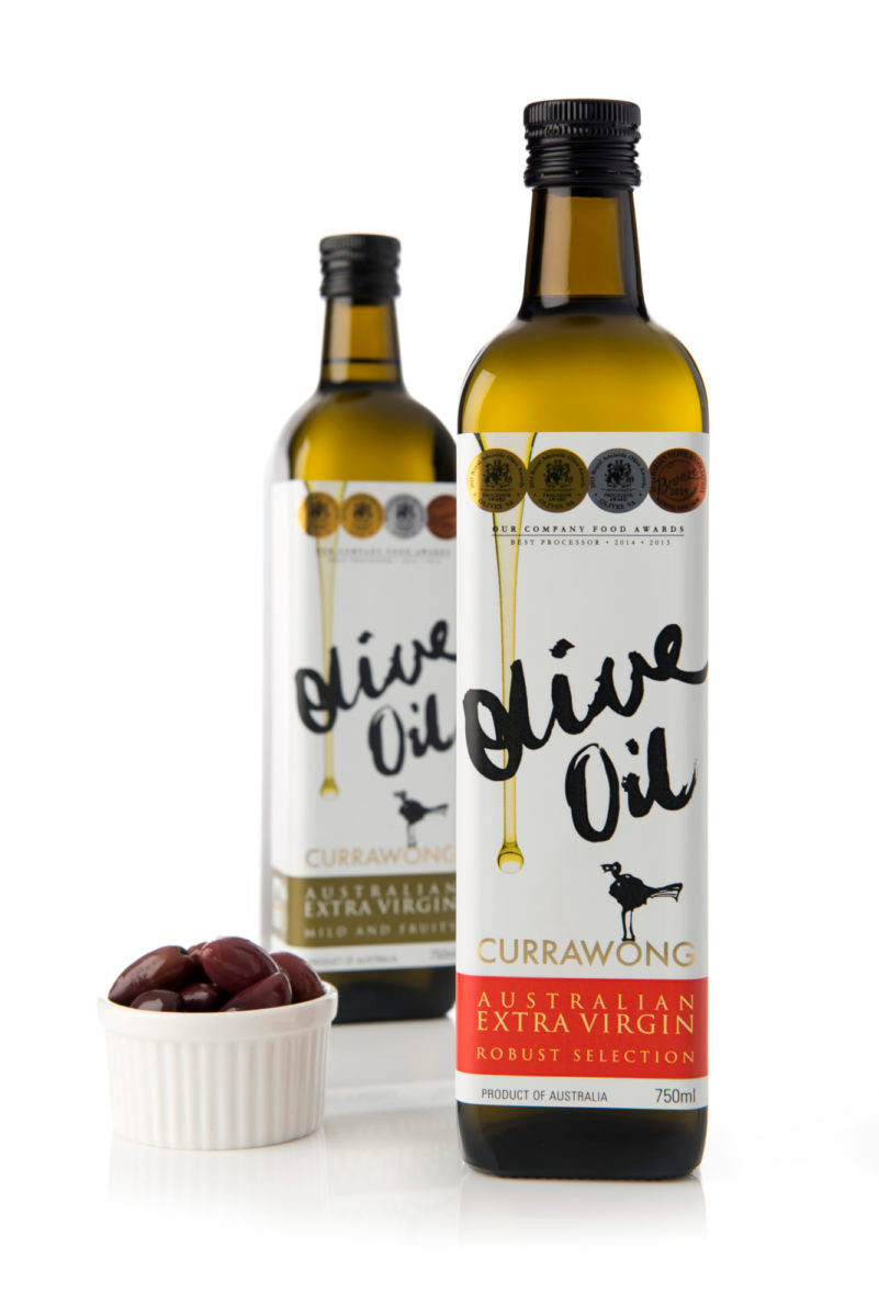 Currawong Extra V Olive Oil Robust 750ml