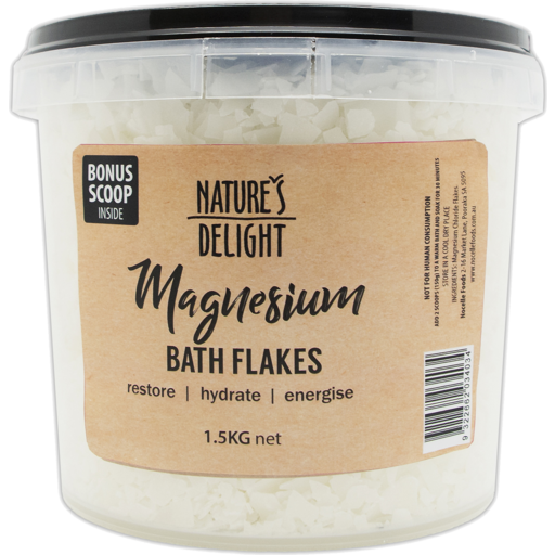 Nature's Delight Magnesium Flakes 1.5kg