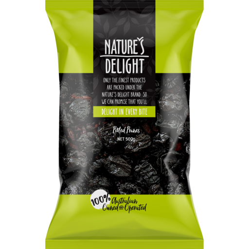 Nature's Delight Pitted Prunes 500g