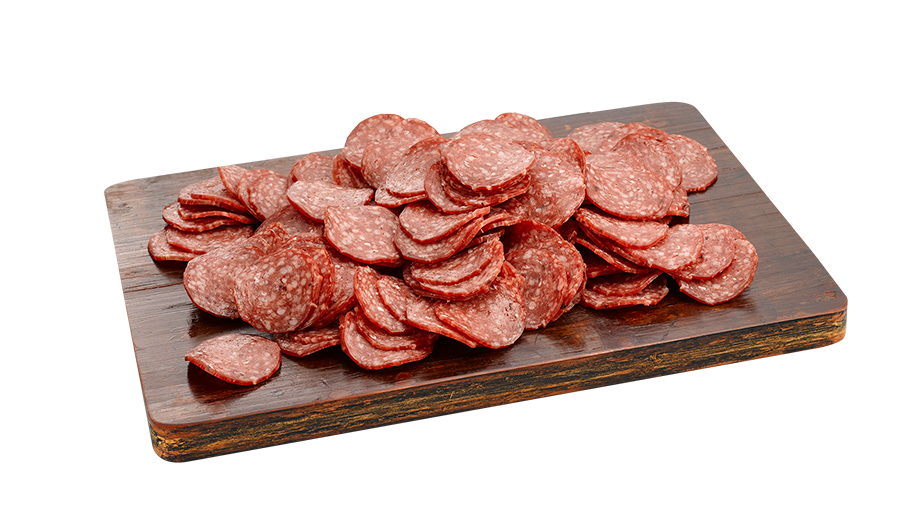Pizza Pepperoni Mild Slices 100g