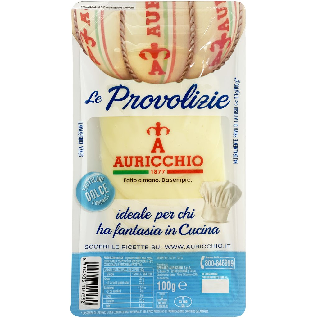 Auricchio Provolone Dolce Slices 100g