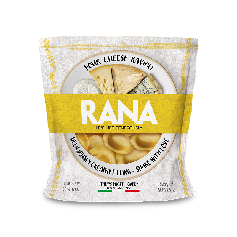 Rana Four Cheese 325g
