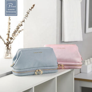 2 IN 1 TRAVEL MAKEUP POUCH