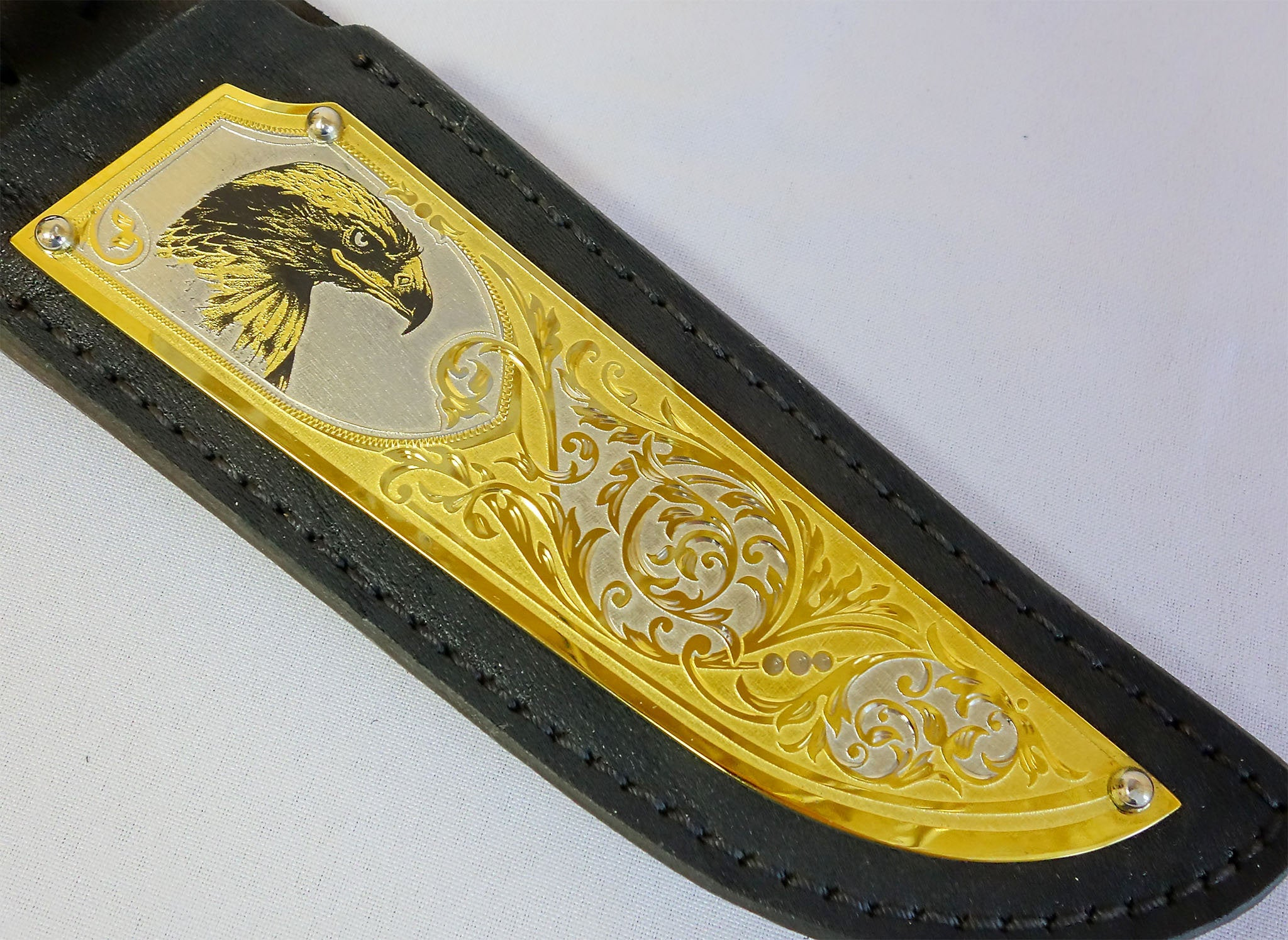 Damascus hunting knife Eagle , gift ideas for dad, 30th birthday gift for boss, 40th anniversary gift for boyfriend, engraved gift for son
