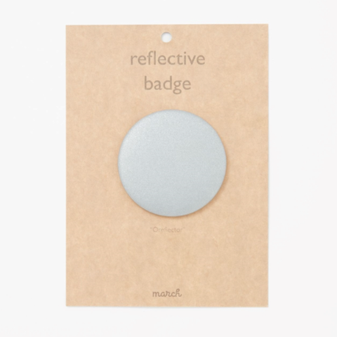 Reflective badge collaboration with HAY