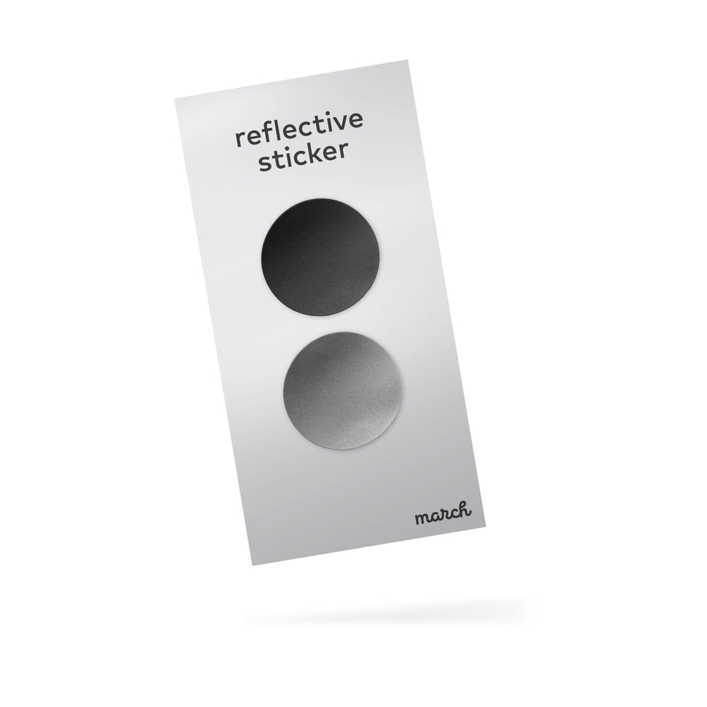 reflective sticker x2