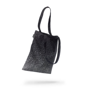 reflective tote SPLASH print