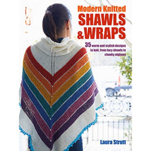 Load image into Gallery viewer, Modern Knitted Shawls and Wraps