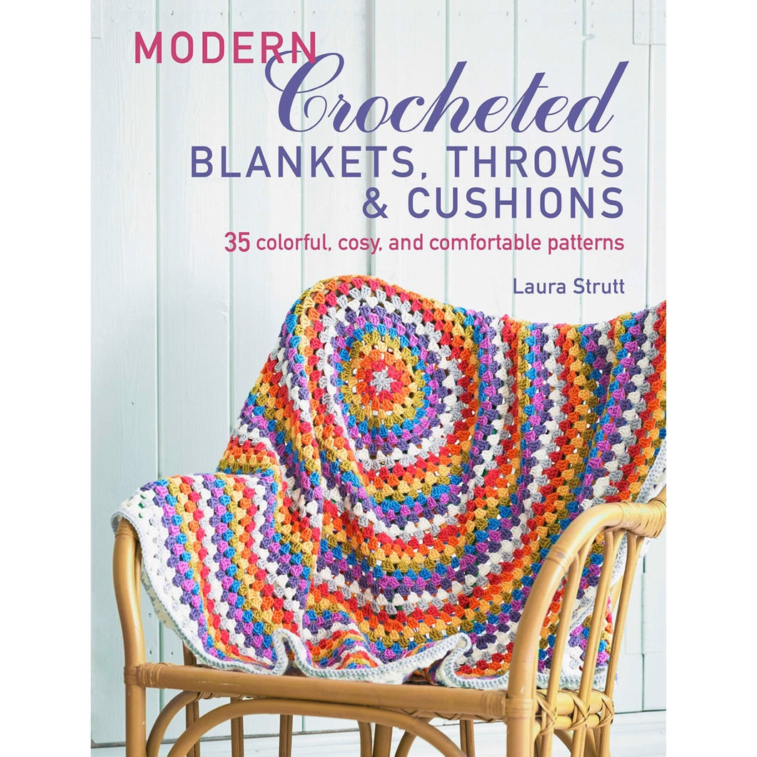 Modern Crocheted Blankets, Throws and Cushions
