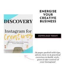 Load image into Gallery viewer, Discovery: Instagram for Creatives by Laura Strutt