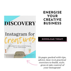 Discovery: Instagram for Creatives by Laura Strutt