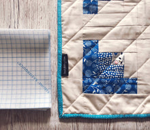 Load image into Gallery viewer, Pre-Cut Quickscreen Square Log Cabin Quilt Pack