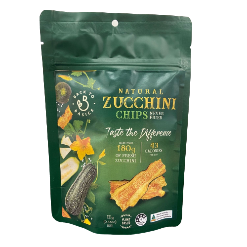 Natural Zucchini Chips
