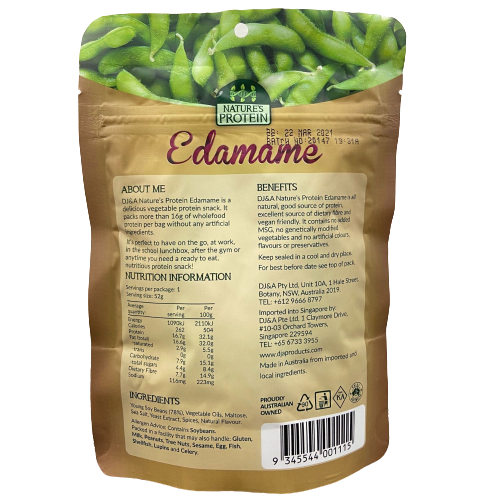 Nature's Protein Edamame Snack