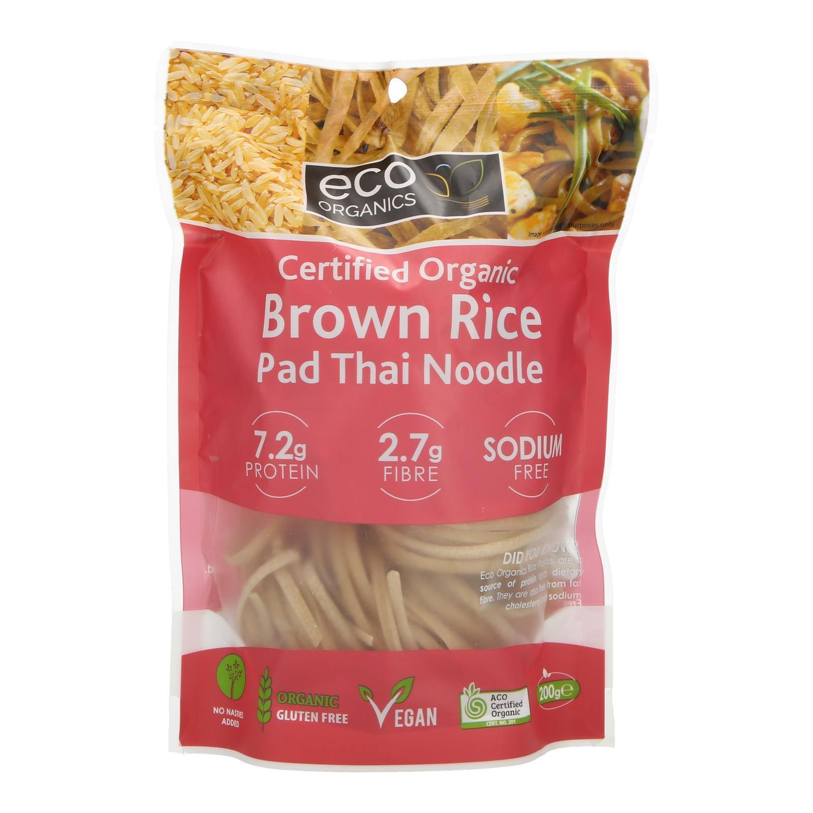 Organic Brown Rice Pad Thai Noodle