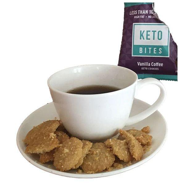 Keto Cookies - Vanilla Coffee