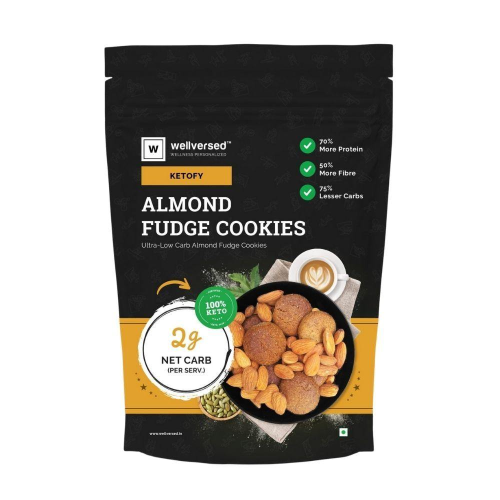 Keto Almond Fudge Cookies