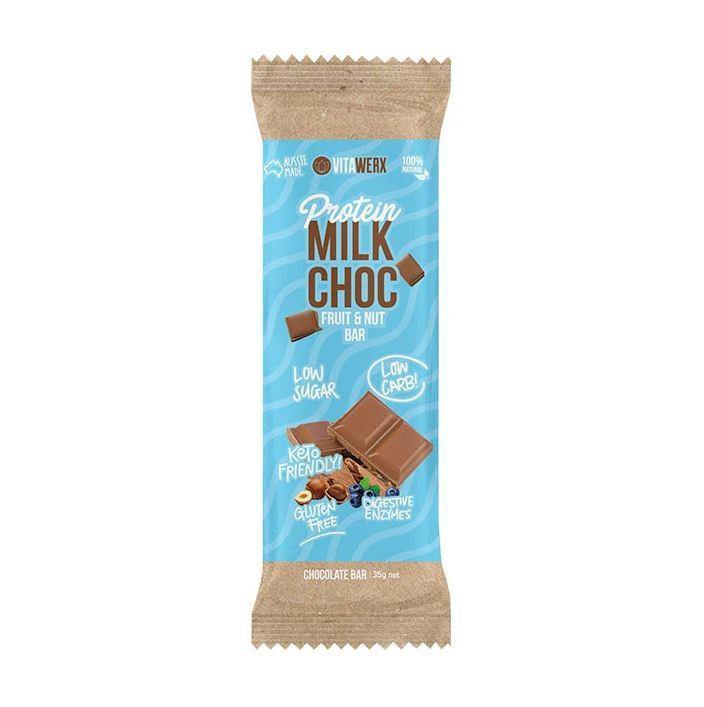 Protein Chocolate Bar - Fruit & Nut Milk Chocolate