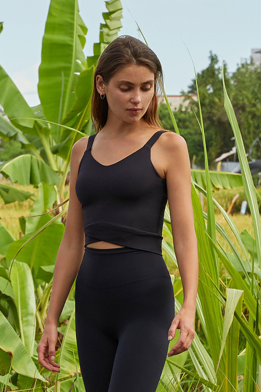 Supplex Po Crop Top - THE B
