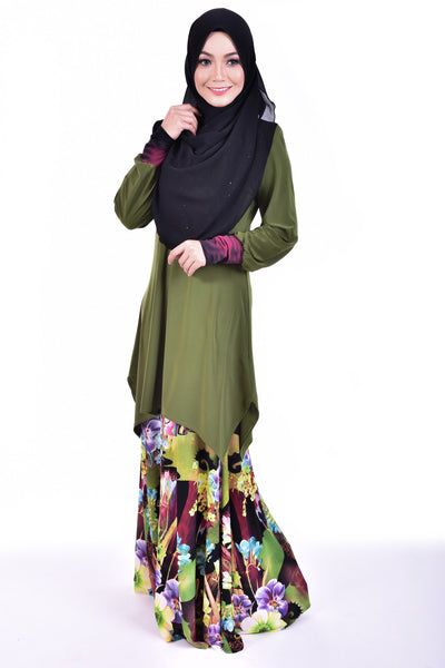 SB001D - BUSHRA (Top+Skirt)