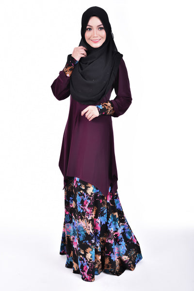SB001F - BUSHRA (Top+Skirt)
