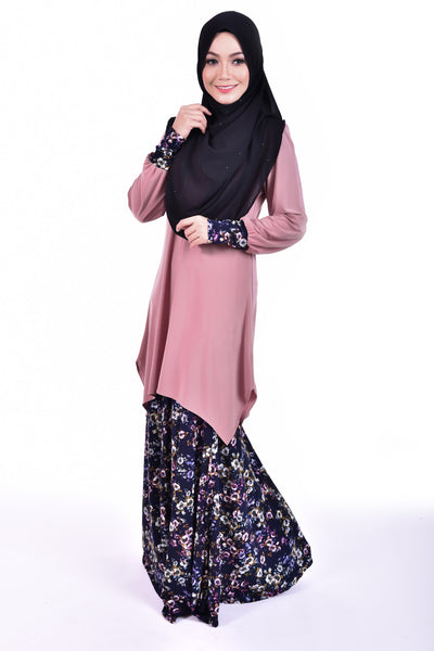 SB002A - BUSHRA (Top+Skirt) - Butik NURSAFIA