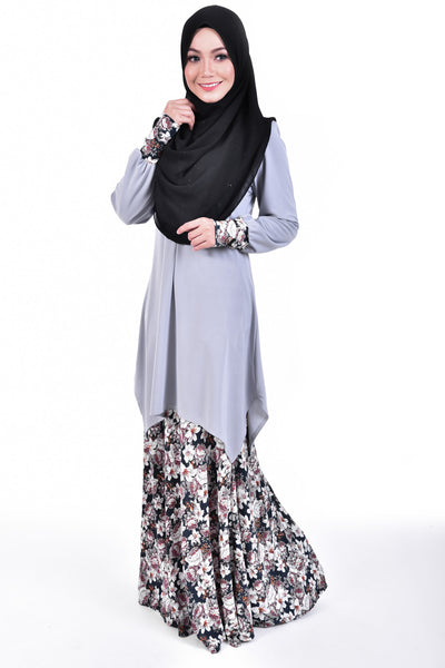 SB002C - BUSHRA (Top+Skirt)