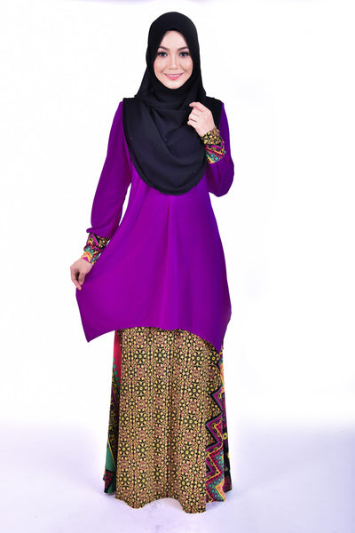 SB002D - BUSHRA (Top+Skirt)