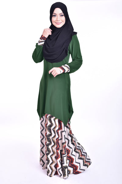 SB005F - BUSHRA (Top+Skirt)