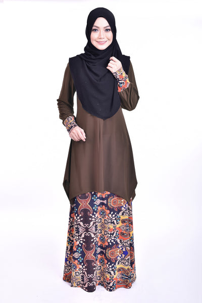 SB005G - BUSHRA (Top+Skirt)